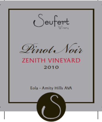 2013 Zenith Vineyard AVA