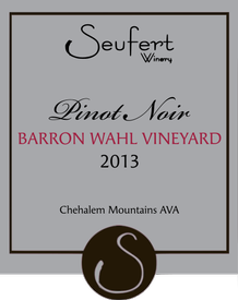 2013 Barron Wahl Vineyard Pinot Noir